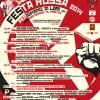 Festa rossa 2014 – programma completo