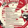 Le locandine degli eventi della  Festa Rossa 2015