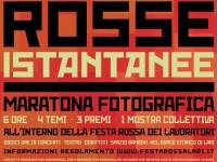 """""""ROSSE ISTANTANEE"""" 2016: ONLINE IL REGOLAMENTO DELLA MARATONA FOTOGRAFICA"""
