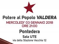 POTERE AL POPOLO Valdera, seconda assemblea organizzativa
