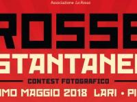 """PRIMO MAGGIO 2018: ONLINE IL REGOLAMENTO DI """"ROSSE ISTANTANEE"""""""