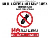 2 GIUGNO: DIBATTITO IN ATTESA DELLA MANIFESTAZIONE A CAMP DARBY