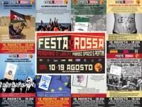 FESTA ROSSA 2018: TUTTE LE LOCANDINE DEI DIBATTITI E DEGLI APPROFONDIMENTI