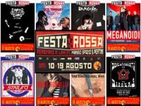 FESTA ROSSA 2018: TUTTE LE LOCANDINE DEGLI SPETTACOLI!