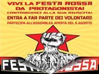 VI ASPETTIAMO! STASERA ASSEMBLEA APERTA VOLONTARI FESTA ROSSA!