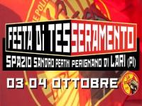 FESTA DI TESSERAMENTO  3 E 4 OTTOBRE A PERIGNANO