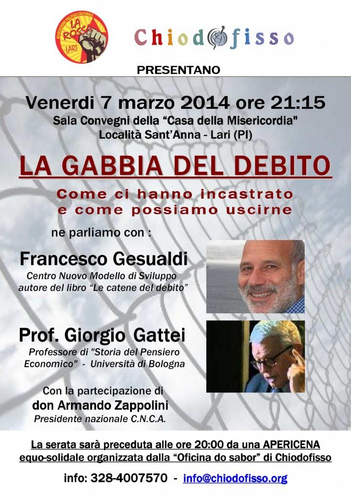 La Gabbia Del Debito7marzo2014