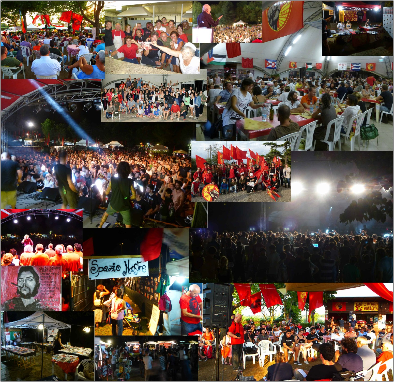 Festa Rossa_collage